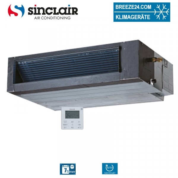 SDV4-45DAF Kanalgerät niedrige Pressung VRF
