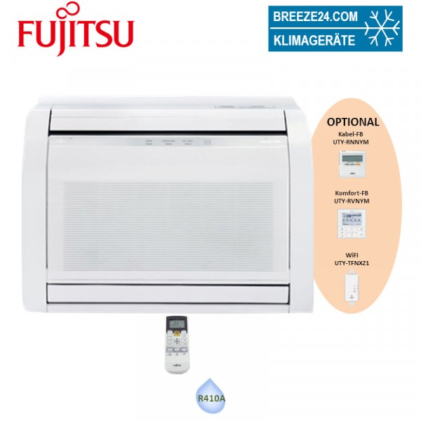 Fujitsu Minitruhengerät 2,5 kW - AGYG 09LVCA - R410A