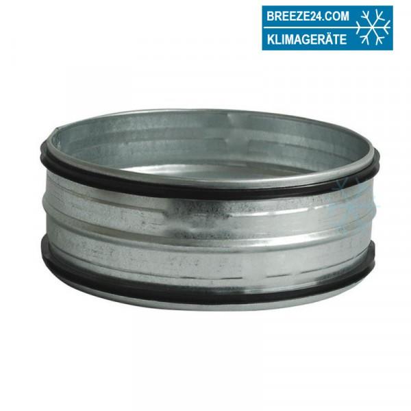 Steckverbinder für Wickelfalzrohr verzinkt (d1 80 - 900 mm)