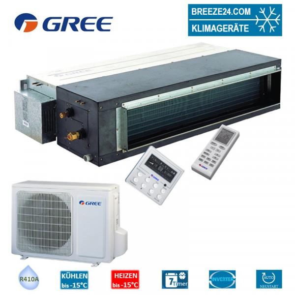 Set GFH-18-K3-4 Inverter Kanalgerät + GUHD-18-NK-4