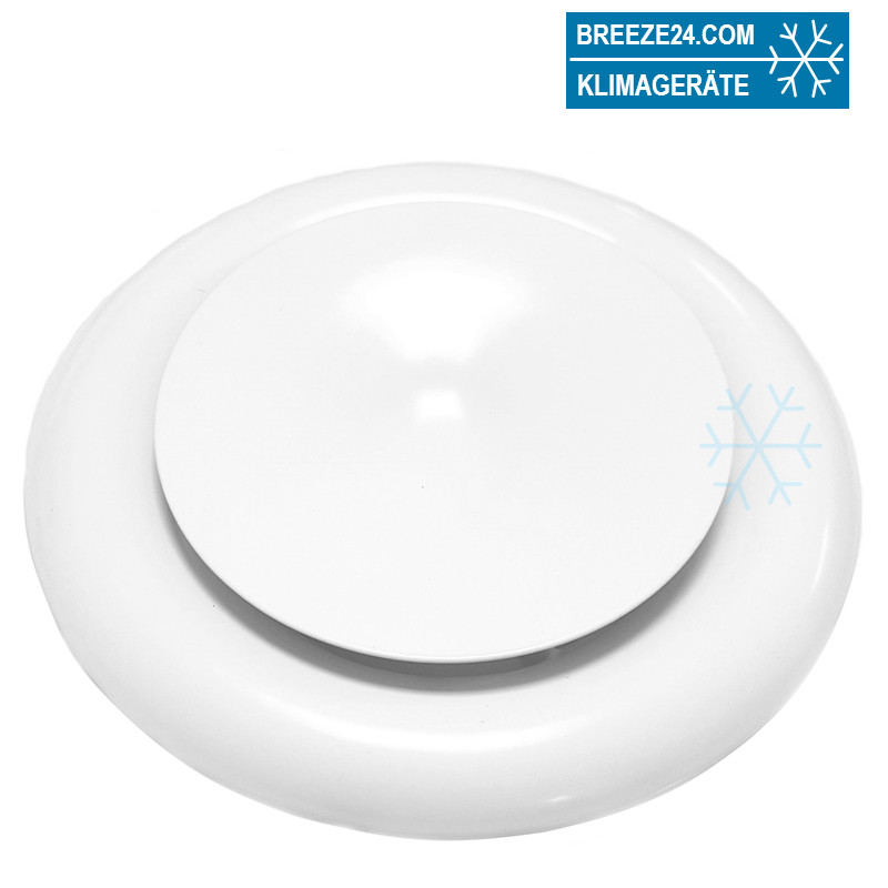 Tellerventil Zuluft Stahl (DN 80-200)