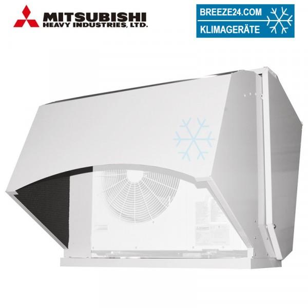 Schnee-/Schall-Schutzhaube für Mitsubishi Heavy Außengeräte