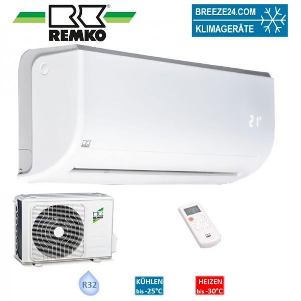 Remko Set Wandgerät Inverter 2,6 kW - RVT 265 DC + Außengerät R32 Klimaanlage
