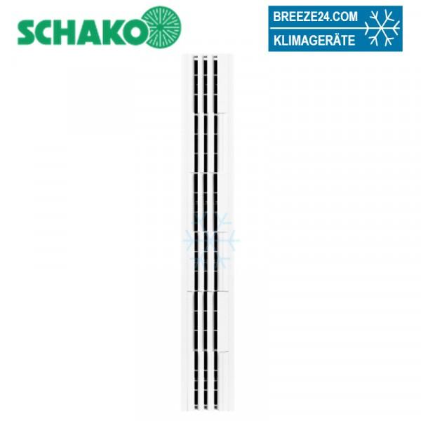 Deckenschlitzauslass mit 3 Schlitzen DSX-XXL-P3-Abluft L=600-1000mm mit Anschlußkasten