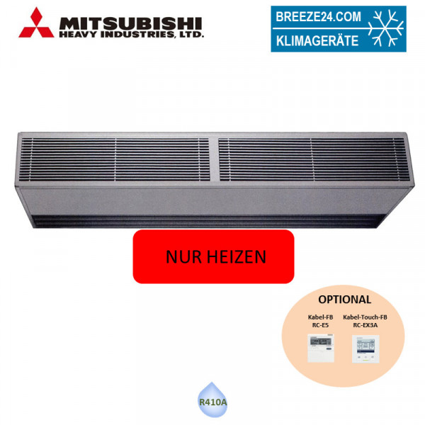 FDZ 3002 H KXE6 Türluftschleier KX Heizen