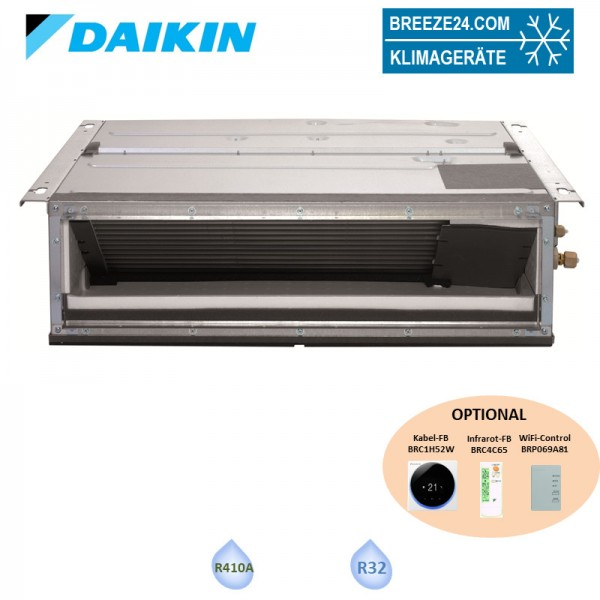 Daikin Kanalgerät 6,0 kW - FDXM60F9 R32 oder R410A