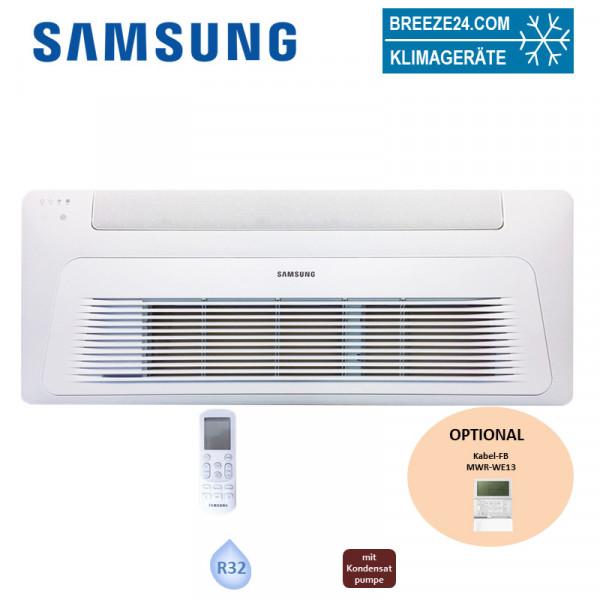 Samsung 1-Weg-Deckenkassette 3,5 kW - AJ 035 RB1DEG + Blende PC1NWFMAN Wind-Free R32 (Nur Multisplit