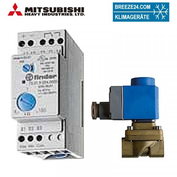 Wasserwarnanlage inklusive Sensor und Magnetventil