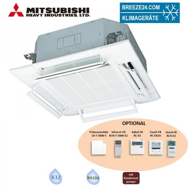 Mitsubishi Heavy FDT50VH 4-Wege-Deckenkassette Komfortpaneel T-PSAE-5BW-E 5,0 kW