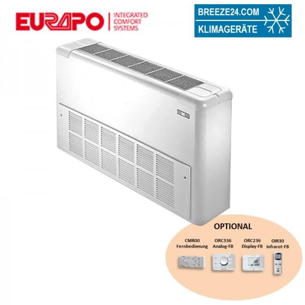 Eurapo Truhengerät Sigma 9,46 kW Kaltwasser ESTSV/AF528 zum Kühlen und Heizen