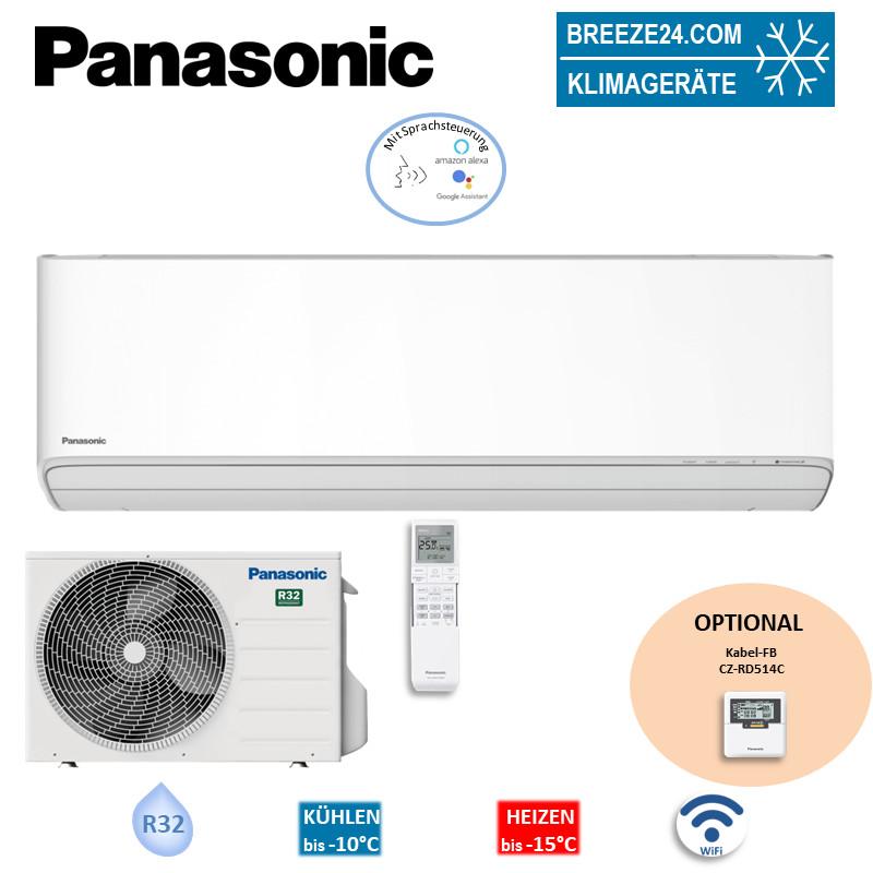 Panasonic Set Wandgerät Etherea 3,5 kW - CS-Z35XKEW + CU-Z35XKE R32 Klimaanlage