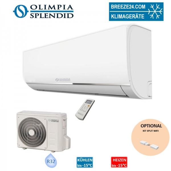 Olimpia Splendid Set Wandgerät NEXYA S4 E 2,64 KW R32 Klimaanlage