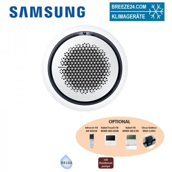 Samsung Wind-Free 360° Round Airflow Deckenkassette AM 045 KN4DEH + Paneel PC4NUNMAN (nur DVM S) 4,
