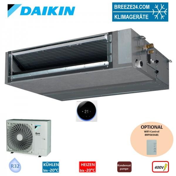 Set FBA125A Kanalgerät (Fernbedienung wählbar) + RZAG125NY1 400V