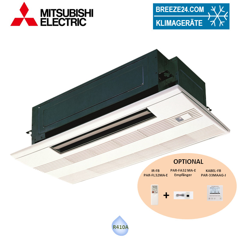 PMFY-P25VBM-E 1-Wege-Deckenkassette + Blende PMP-40BMW