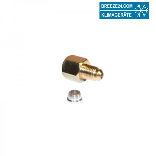 Adapter für Stickstoff-Druckminderer 154/3