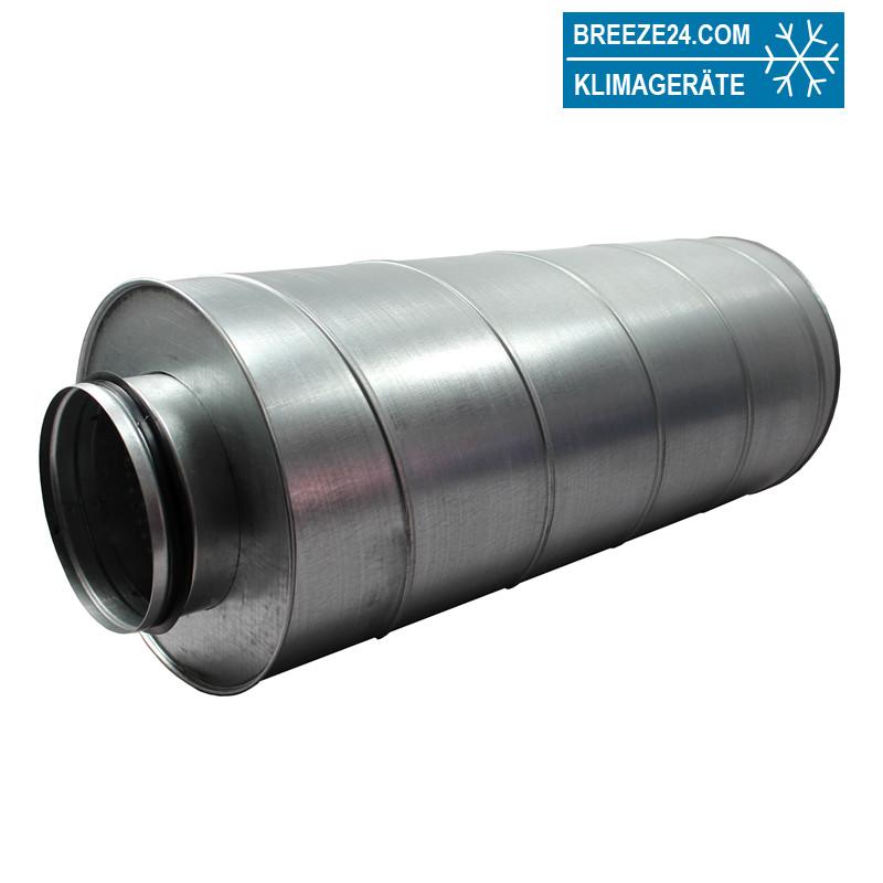Rohr-Schalldämpfer Durchmesser 250 mm Länge 900 mm