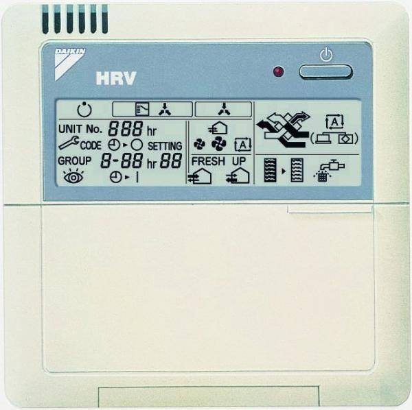 Daikin BRC301B61 Kabelfernbedienung für HRV Geräte