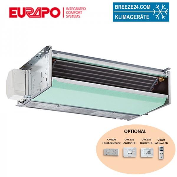 Eurapo Incasso Kanalgerät 6,43 kW - CH/AF224 zum Kühlen und Heizen