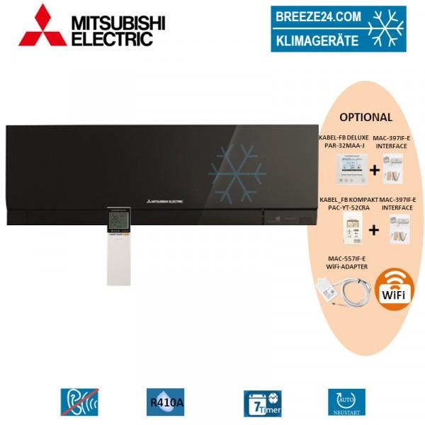 MSZ-EF35VE3 B Premium Wandgerät in Schwarz