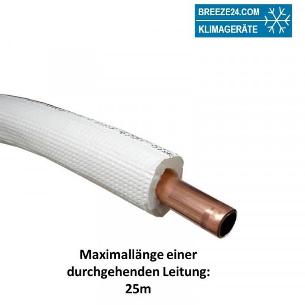 Isoliertes Kupferrohr 18x1 B1 (Preis pro Meter)