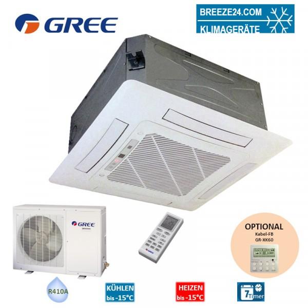 Set GKH-36-K3-4 4-Wege-Deckenkassette + GUHD-36-NM-4