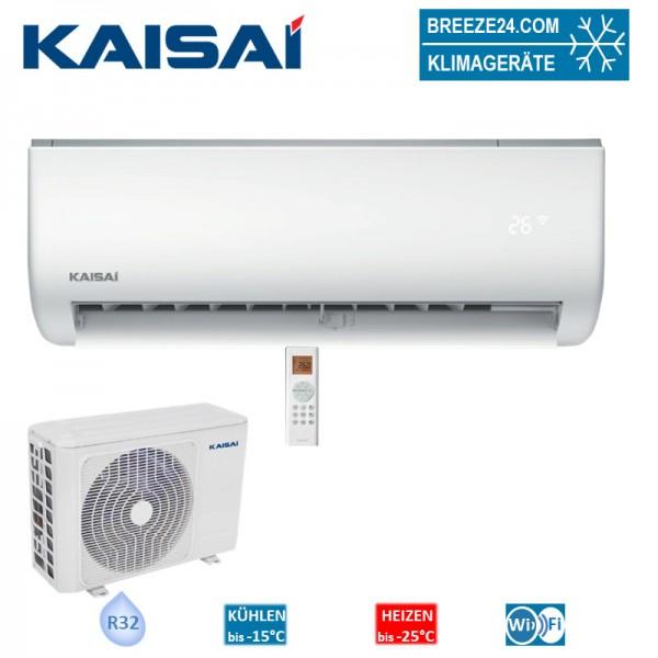 Kaisai Set Wandgerät One 2,6 kW KRX-09AEGI + KRX-09AEGO R32 Klimaanlage
