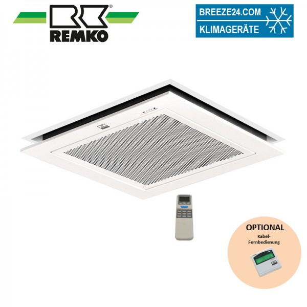 KWD 25 EC Coanda mit Standard-Filter Remko Deckenkassette wassergekühlt 2,6 kW