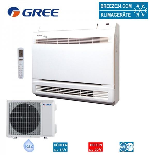 GREE Set Inverter Truhengerät 5,2 kW - GEH-18-K6-I + GEH-18-K6-0 R32 Klimaanlage