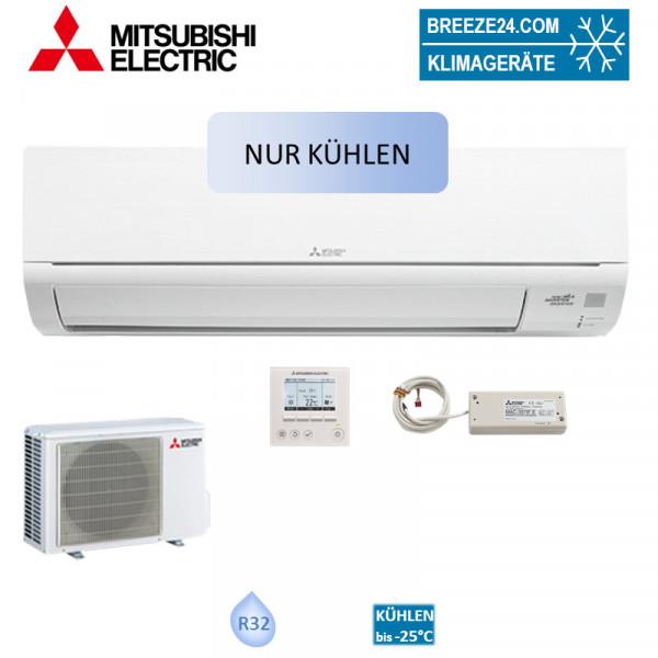 Mitsubishi Electric Set Wandgerät für Serverraum 5,0 kW - MUSY-TP50VF mit MSY-TP50VF + MUY-TP50VF K