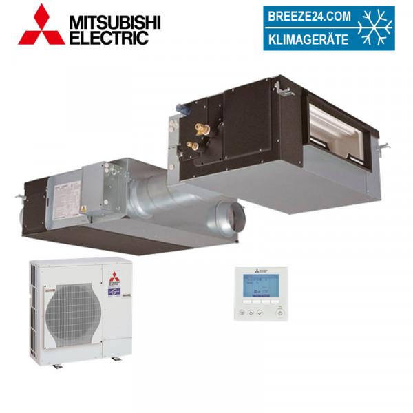 Mitsubishi Electric LGH-200RVX-E + GUG-03SL-E + PUHZ-ZRP71VHA Kanalgerät mit GUG Wärmetauscher und A