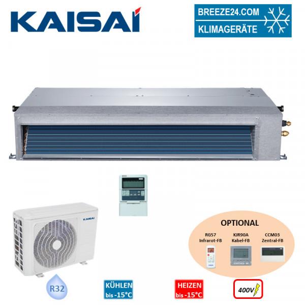 Set KTI-36HWF32 Kanalgerät + KOD30U-36HFN32 R32 400V