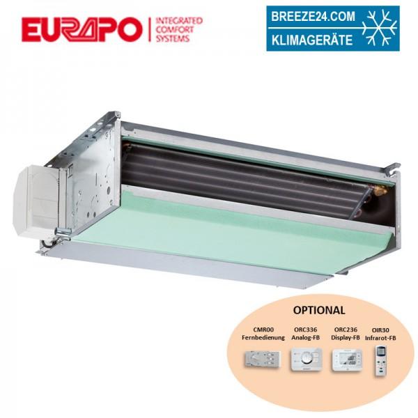 Eurapo Incasso Kanalgerät 5,81 kW - ESTCH/AF522 zum Kühlen und Heizen