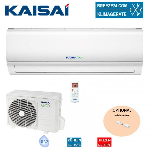 Kaisai Set Wandgerät Eco 3,5 kW KEX-12KTGI + KEX-12KTGO R32 Klimaanlage