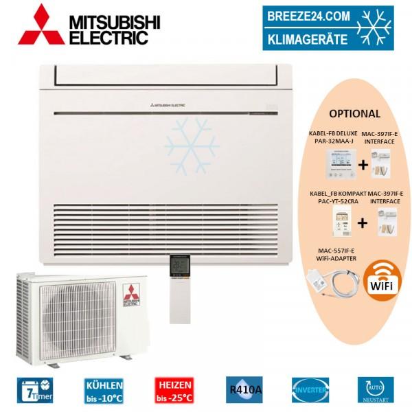 Set MFZ-KJ35VE Kompakt Truhengerät + MUFZ-KJ35VEHZ Mitsubishi Electric Klimaanlage
