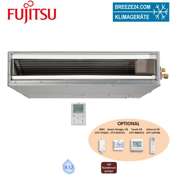 Fujitsu Hotel Kanalgerät 2,0 kW - ARXG 07KSLAP (Nur Multi-Split) R32