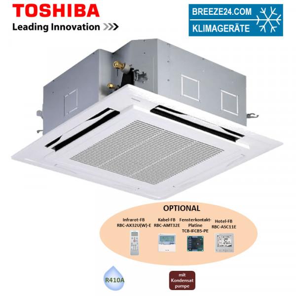 Toshiba VRF 4-Wege-Deckenkassette 4,5 kW - MMU-AP0154HP1-E - R410A