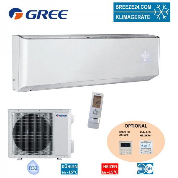 GREE Set Wandgerät 5,3 kW - GWH-18-YD6-I + GWH-18-YD6-0 - R32 Klimaanlage