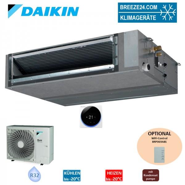Daikin Set Kanalgerät 12,1 kW - FBA140A + RZAG140NV1 R32 (Fernbedienung wählbar) R32 Klimaanlage
